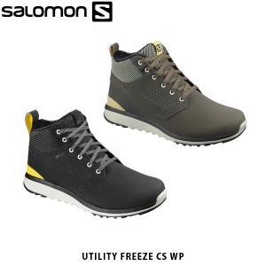 サロモン メンズ ウィンターシューズ UTILITY FREEZE CSWP スニーカー シューズ 防水 雪 ハイカット L40233700 L40469400 SALOMON SAL0222 geak