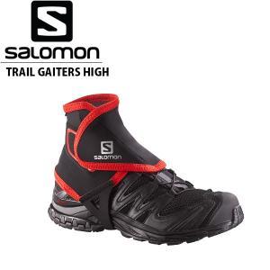 サロモン メンズ レディース ハイカットゲイター TRAIL GAITERS HIGH トレイルランニング トレッキング ユニセックス L38002100 SALOMON SAL0231|geak