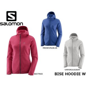 サロモン SALOMON レディース ジャケット BISE HOODIE W トレイルランニング トレラン 山ラン SAL0524|geak