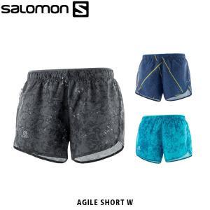 SALOMON サロモン レディース ランニングショーツ AGILE SHORT W ランニングパンツ アウトドア LC1160000 LC1160100 LC1160200 SAL0706|geak