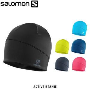 SALOMON サロモン マイクロフリースビーニー ACTIVE BEANIE スキー 帽子 アウトドア LC1138100 LC1138200 LC1138300 LC1138400 LC1219300 LC1219400 SAL0712|geak