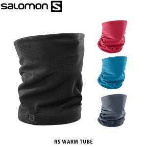 SALOMON サロモン RS WARM TUBE メリノウール ネックウォーマー アウトドア L39814100 LC1137800 LC1137900 LC1138000 SAL0715|geak