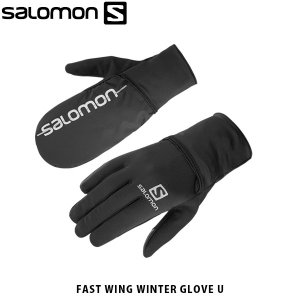 SALOMON サロモン メンズ レディース ユニセックス 手袋 グローブ ミトン FAST WING WINTER GLOVE U アウトドア L40428200 SAL0723|geak