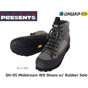 リトルプレゼンツ LITTLE PRESENTS ミッドストリームWDシューズ ラバーソール Midstream WD Shoes w/ Rubber Sole SH-05 SH05|geak