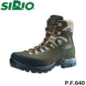 シリオ 登山靴 メンズ レディース トレッキングシューズ P.F.640 ミッドカット ゴアテックス 防水 ブーツ 登山 4E+ 幅広 日本人専用 SIRIO SIRPF640|geak