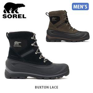 SOREL ソレル メンズ Buxton Lace バクストンレース シューズ 靴 ショートブーツ ウィンターシューズ アウトドア 登山 SORNM2737|geak