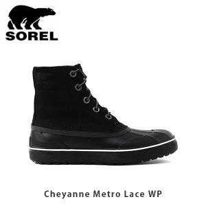 SOREL ソレル メンズ Cheyanne Metro Lace WP シャイアンメトロレースWP シューズ 靴 ショートブーツ ウィンターシューズ ウォータープルーフ SORNM3454|geak