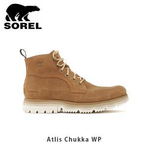 SOREL ソレル メンズ Atlis Chukka WP アトリスチャッカWP シューズ 靴 ショートブーツ ウィンターシューズ 防水 カジュアル アウトドア SORNM3468|geak