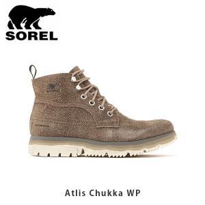 SOREL ソレル メンズ Atlis Chukka WP アトリスチャッカWP シューズ 靴 ショートブーツ ウィンターシューズ カジュアル アウトドア SORNM3469|geak