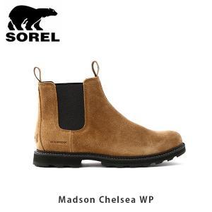 SOREL ソレル メンズ Madson Chelsea WP マドソンチェルシーWP シューズ 靴 ショートブーツ サイドゴア ウィンターシューズ カジュアル SORNM3475|geak