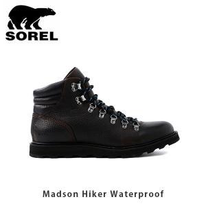SOREL ソレル メンズ Madson Hiker Waterproof マドソンハイカーウォータープルーフ シューズ 靴 マウンテンブーツ ウィンターシューズ 防水 SORNM3496|geak