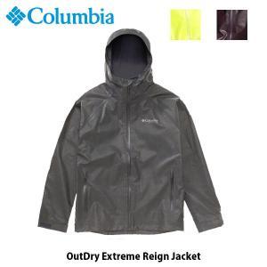 コロンビア Columbia メンズ レインウェア アウトドライエクストリームレインジャケット レインパーカー 長袖 アウトドア ハイキング WE0936 国内正規品|geak