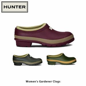 HUNTER ハンター レディース ガーデナー クロッグ WOMENS GARDENER CLOG WFF1016RMA 国内正規品|geak