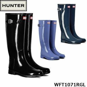 ハンター レディース レインブーツ 長靴 オリジナル リファインド グロス ブーツ ロングブーツ ラバーブーツ スノーブーツ トール HUNTER WFT1071RGL 国内正規品|geak