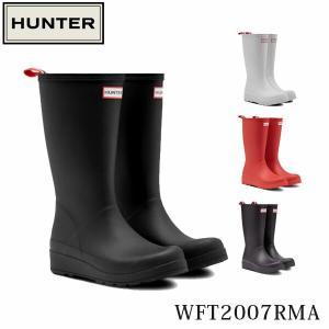 ハンター HUNTER レディース レインブーツ 長靴 オリジナル プレイ トールブーツ ロングブーツ ラバーブーツ 防水 レイン 梅雨 WFT2007RMA 国内正規品|geak