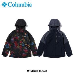 コロンビア Columbia レディース スノージャケット ワイルドサイドジャケット Wildside Jacket スノーウェア スキー スノーボード 防水 保温 WR0921 国内正規品 geak