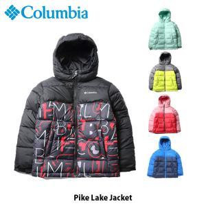 コロンビア Columbia キッズ ユース アウター パイクレイク ジャケット トップス 長袖 ジャケット 上着 保温機能 撥水 アウトドア キャンプ WY0028 国内正規品 geak
