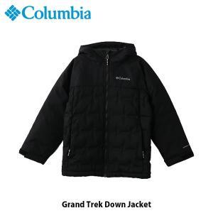 コロンビア Columbia キッズ ユース アウター グランドトレック ダウンジャケット トップス 長袖 ジャケット 上着 保温機能 防水 アウトドア WY0105 国内正規品|geak