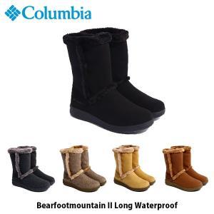 Columbia コロンビア レディース ムートンブーツ ベアフッドマウンテン2ロング ウォータープルーフ Bearfootmountain II Long Waterproof 冬 YL1016 国内正規品 geak