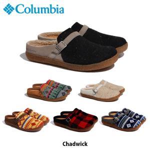 コロンビア Columbia メンズ レディース チャドウィック 靴 スリッポン アウトドア YU0290 国内正規品|geak