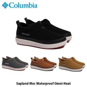 Columbia コロンビア サップランド モック ウォータープルーフ オムニヒート Sapland Moc Waterproof Omni-Heat ウィンターブーツ シューズ YU0298 国内正規品|geak