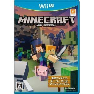 【送料無料・即日出荷】WiiU MINECRAFT マインクラフト: WiiU EDITION マイクラ 040127|geamedarake2-store