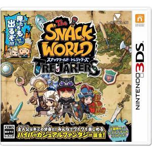 【送料無料・即日出荷】(初回封入特典付)3DS スナックワールド トレジャラーズ  020851|geamedarake2-store