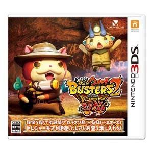 【送料無料・発売日前日出荷】(封入特典付)3DS 妖怪ウォッチバスターズ2 秘宝伝説バンバラヤー マグナム (12.07新作) 020895|geamedarake2-store