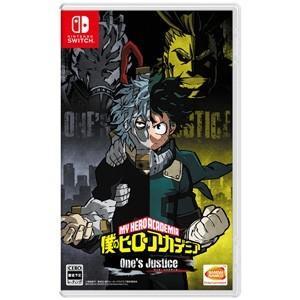 【送料無料・即日出荷】Nintendo Switch 僕のヒーローアカデミア One's Justice 050855|geamedarake2-store