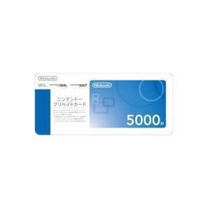 【送料無料・即日出荷】任天堂 ニンテンドープリペイドカード5000円 150377|geamedarake2-store