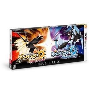 【送料無料・即日出荷】3DS ポケットモンスター ウルトラサン・ウルトラムーン Wダブルパック ポケモン 020893|geamedarake2-store