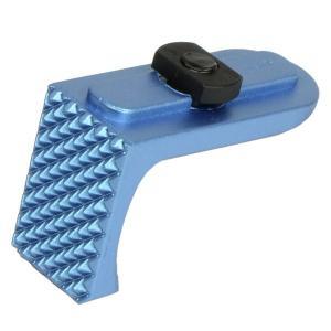 APS M-LOK用 ダイナミック ハンドストップ TypeB ブルー|geelyy