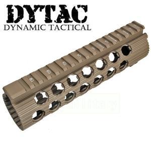 DYTAC TROY TRX タイプ M4ハンドガード 7.2インチ DE|geelyy
