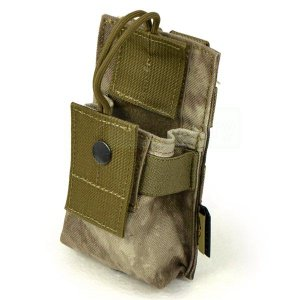 FLYYE MOLLE Short Radio Pounch A-TACS|geelyy
