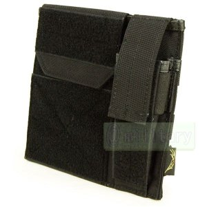 FLYYE Molle Administrative/Pistol Mag Pouch BK|geelyy