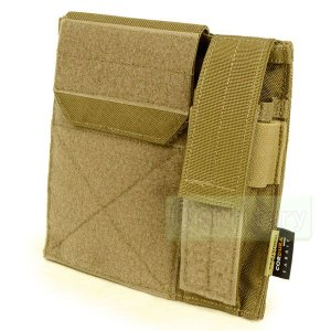 FLYYE Molle Administrative/Pistol Mag Pouch CB|geelyy