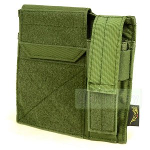 FLYYE Molle Administrative/Pistol Mag Pouch OD|geelyy