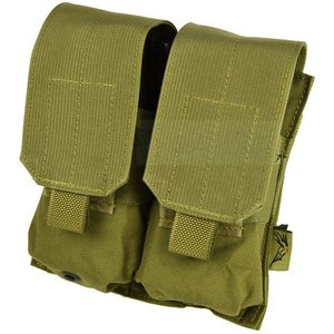 FLYYE MOLLE Double M4/M16 Mag Pouch KH|geelyy