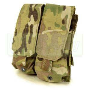 FLYYE MOLLE Double M4/M16 Mag Pouch マルチカム迷彩 (500D)|geelyy