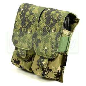 FLYYE MOLLE Double M4/M16 Mag Pouch AOR2 迷彩|geelyy