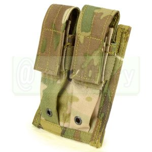 FLYYE MOLLE Double 9mm Mag Pouch マルチカム 迷彩 (500D)|geelyy
