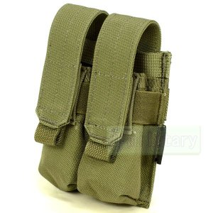FLYYE MOLLE Double 9mm Mag Pouch Ver.FE RG|geelyy