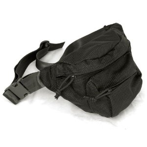 FLYYE Low-pitched waist pack BK|geelyy