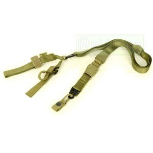 FLYYE Tactical Three Point Sling KH|geelyy