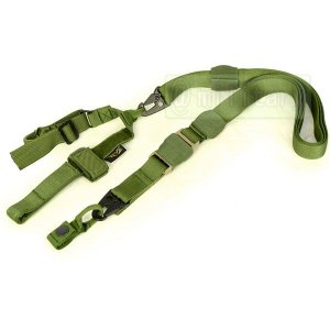 FLYYE Tactical Three Point Sling OD|geelyy