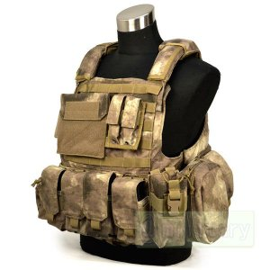 FLYYE Force Recon Vest with Pouch Set Ver.Land A-TACS 迷彩|geelyy