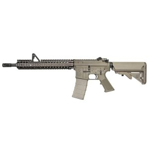 GHK M4A1 Daniel Deffense RIS II FSP 14.5インチ ガスブローバックライフル  (DD Licensed) セラコートver. デザートカラー geelyy