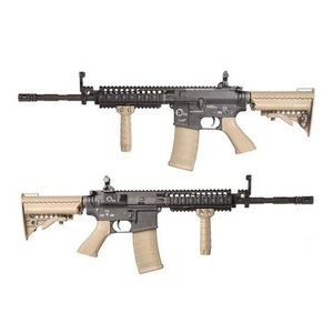 King Arms TWS M4 VIS カービン 電動ガン デザートカラー|geelyy