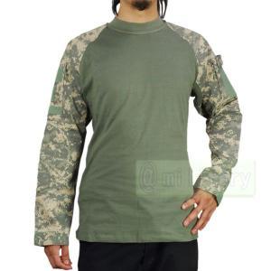 コンバット 長袖Tシャツ ACUカラー|geelyy