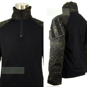 (特価)CRYE タイプ BDU コンバットシャツ マルチカムブラック 迷彩服|geelyy|03